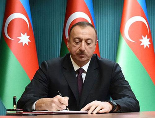 Ázerbájdžánský prezident přidělil 630 000 AZN na zlepšení zavlažování a zásobování vodou v oblasti Gusar