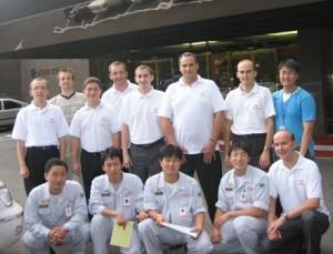 Úspěšné hodnocení 3-měsíčního školení v Koreji
