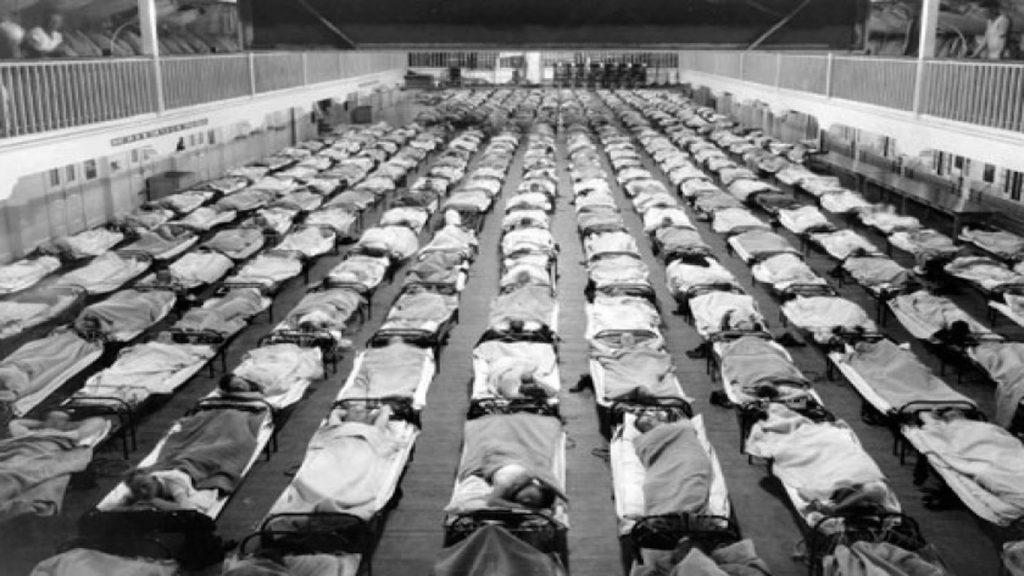 Epidemie chřipky v roce 1918 byla způsobena očkováním