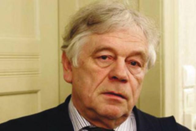 Wolfgang Benz, vedoucí Centra pro výzkum antisemitismu na Technické univerzitě v Berlíně