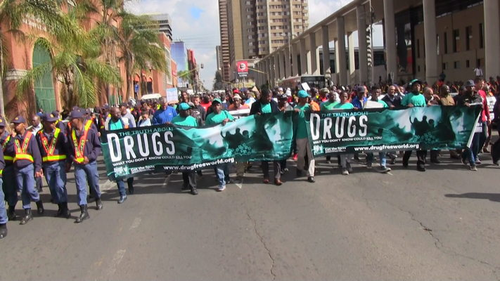 100-Man March launched July 10, Drug-Free World South Africa