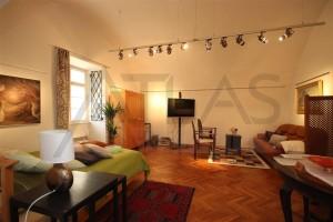 obytný pokoj - Pronájem bytu 2+1 Praha 1 - Hradčany, Loretánské náměstí