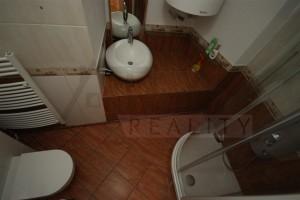 Koupelna se sprchou - Pronájem bytu 2+1 Praha 1 - Hradčany, Loretánské náměstí