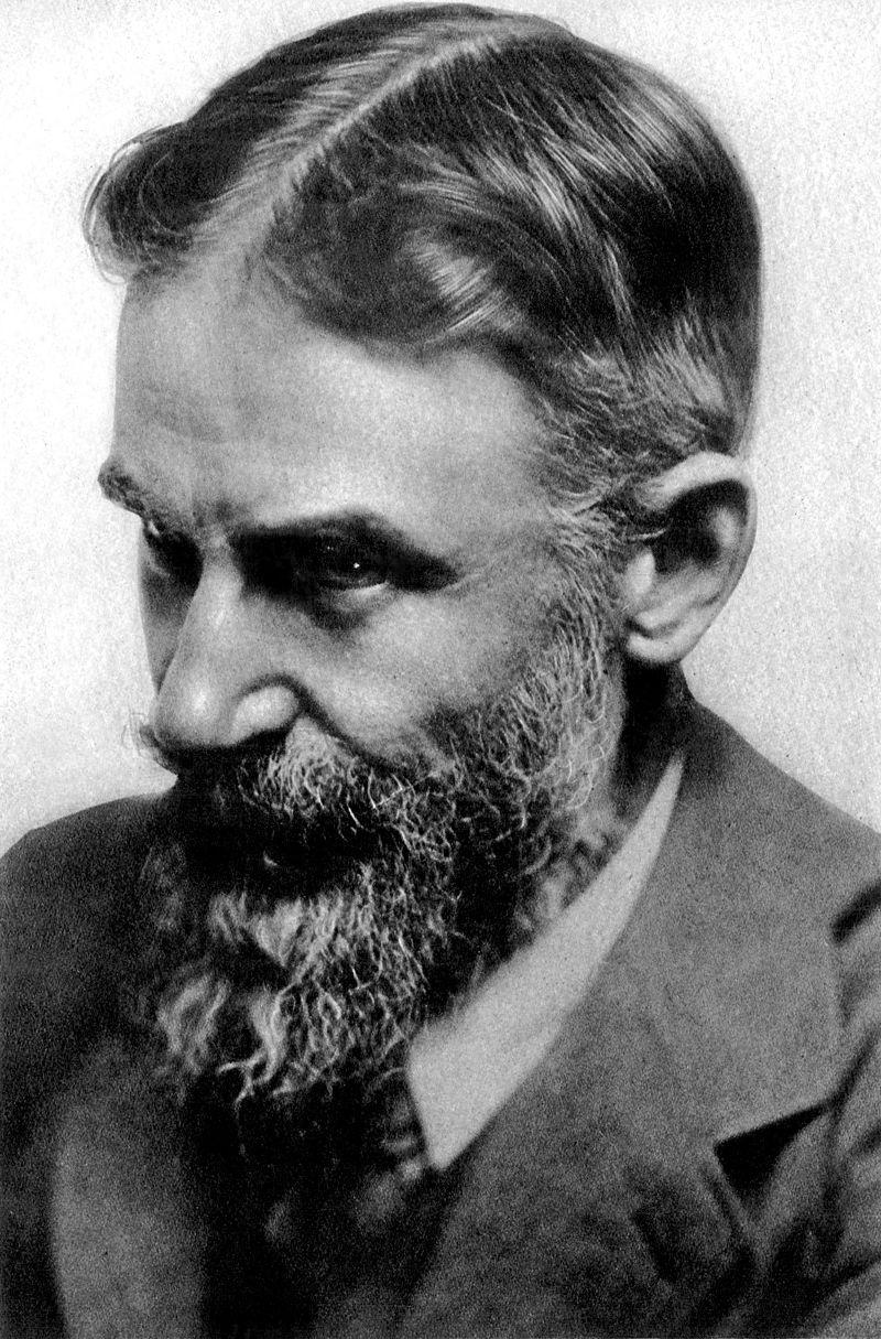 Irský dramatik George Bernard Shaw