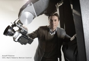 Assaff Rawner - MRMC - robotické pohony filmových kamer - Firma Mark Roberts Motion Control