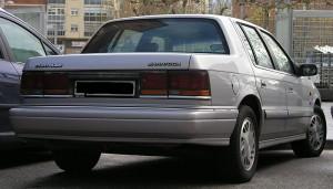 Chrysler AA Saratoga španělská verze zadku vozu