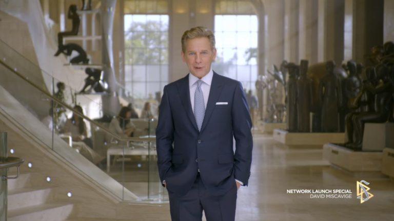 David Miscavige startuje vysílání scientologické televize