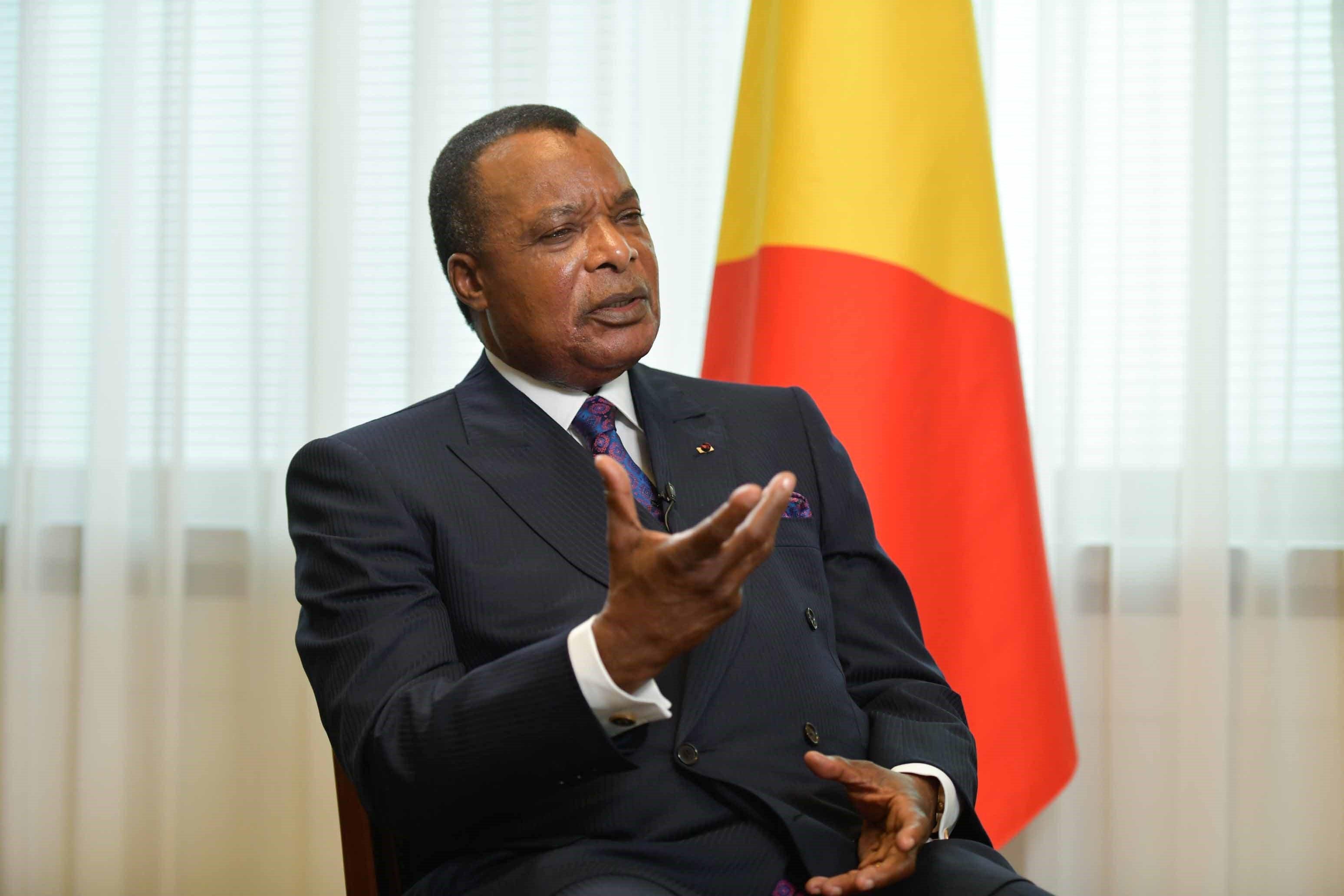 Prezident Konga Denis Sassou Nguesso