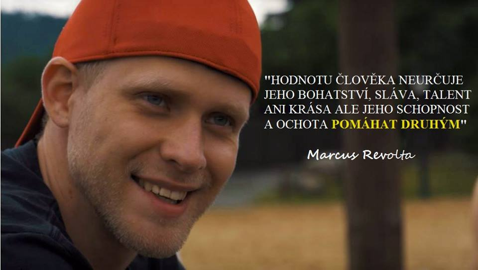Marcus Revolta Kaleta hodnota člověka