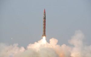 Pákistán odtestoval svou 1. námořní nukleární raketu, v Indickém oceánu