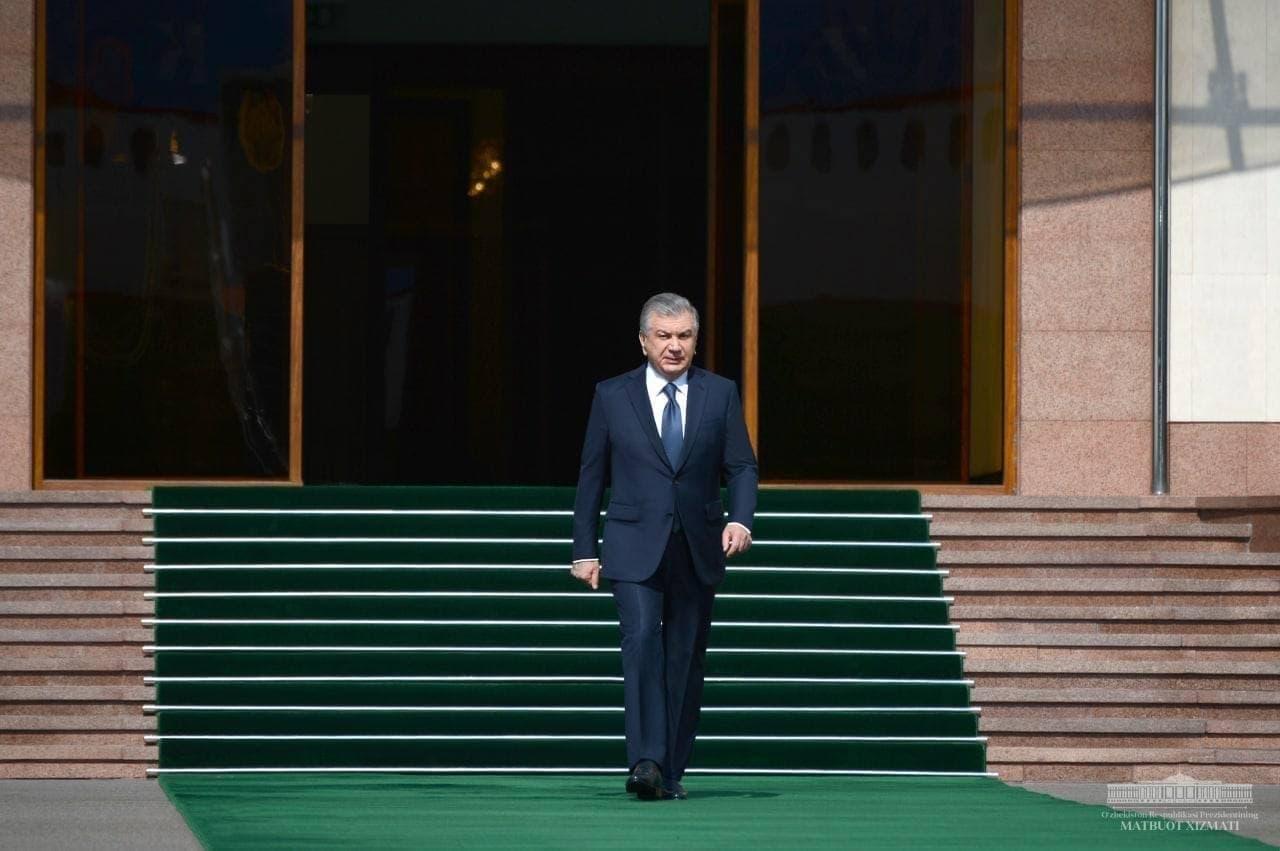 Uzbecký prezident Shavkat Mirziyoyev