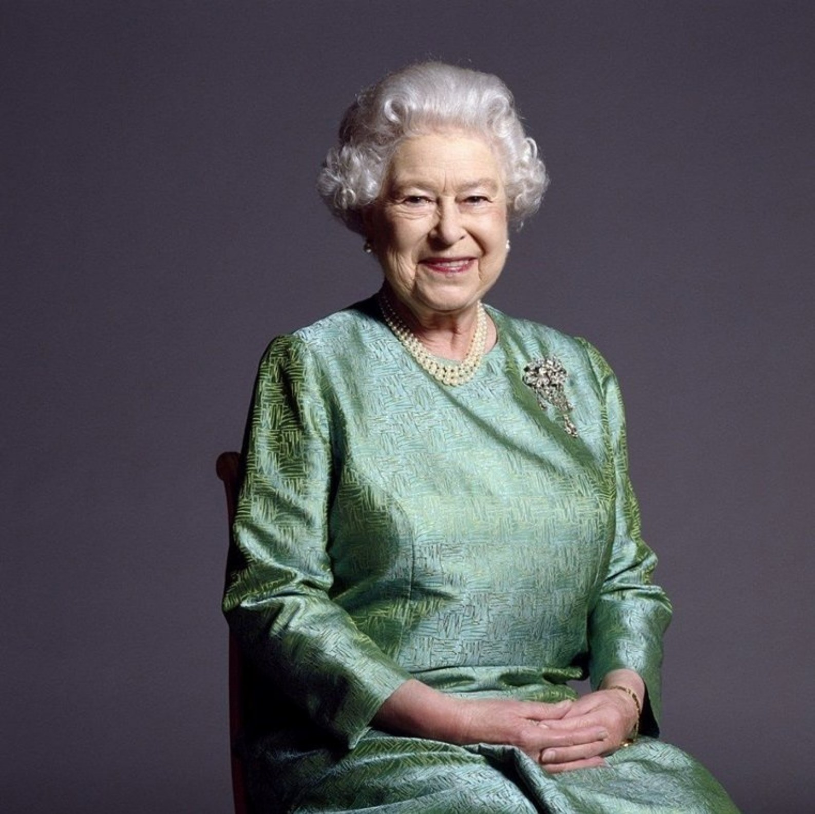 fotografie královny Alžběty