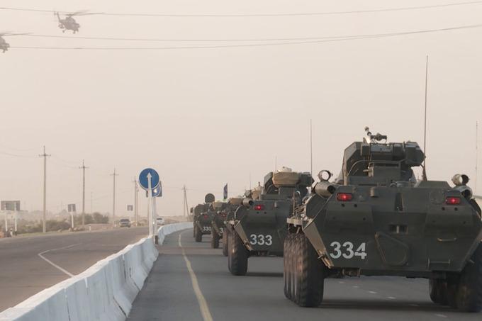 Do Tádžikistánu přijíždějí vojenští opraváři z Uzbekistánu, aby se zúčastnili společných cvičení