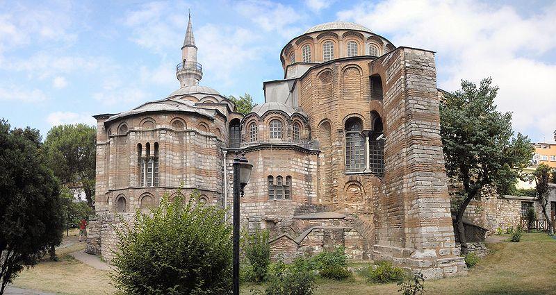 Chora kostel v Istanbulu
