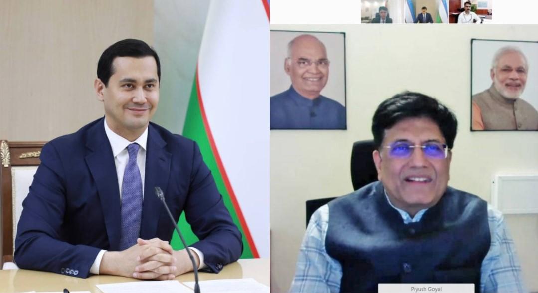 Uzbekistán a Indie mohou dosáhnout preferenční obchodní dohody