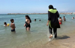 Burkiny - celotělové plavky