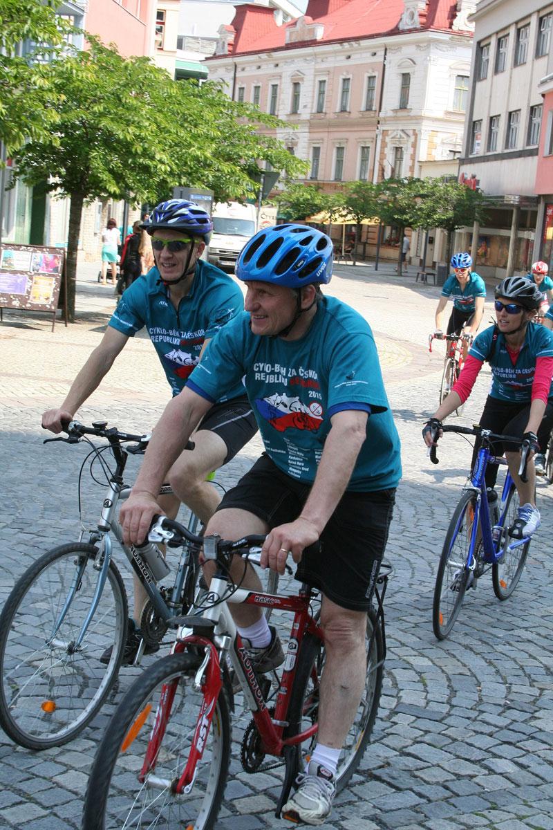 Cyklo – běh je svým rozsahem a intenzitou největší pravidelnou protidrogovou kampaní spojenou se sportem