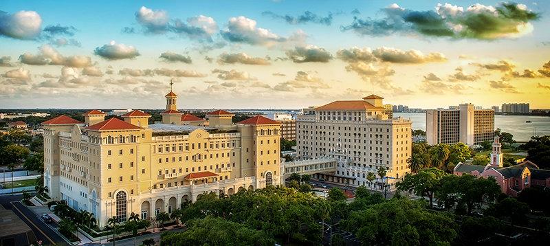 Scientologická církev v Clearwater na Floridě v USA