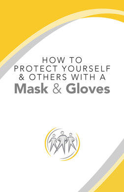 jak se chránit rouškou a rukavicemi HOW TO PROTECT YOURSELF & OTHERS WITH A MASK & GLOVES