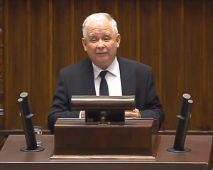 Jarosław Aleksander Kaczyński - předseda strany Právo a spravedlnost