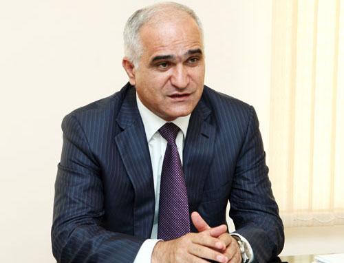 ministr hospodářství a průmyslu Ázerbájdžánu Shahin Mustafayev