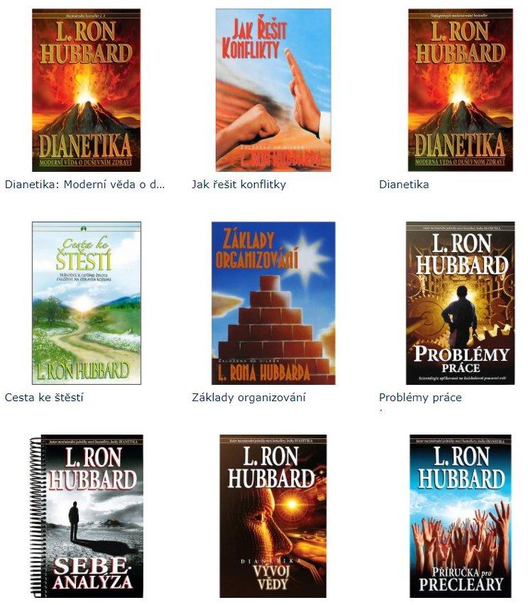 publikacemi L. Ron Hubbard