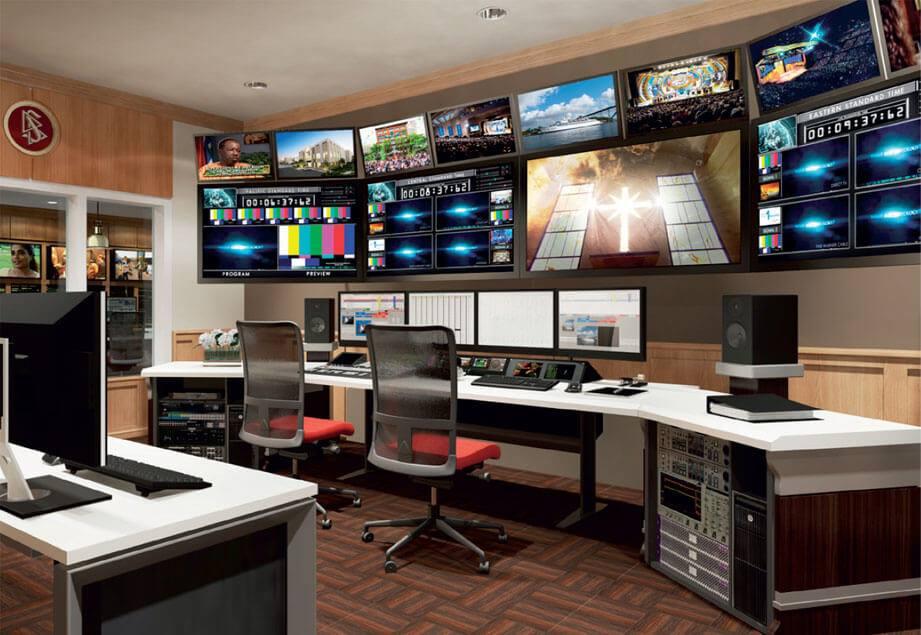 Scientologická rozhlasová a televizní stanice začala nepřetržitě vysílat