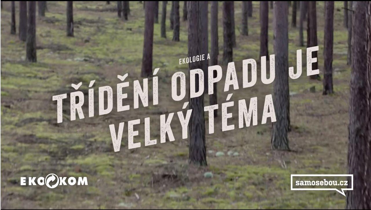 Samosebou a Vavřinec Hradilek: do hlubin třídičky ve 360° videu